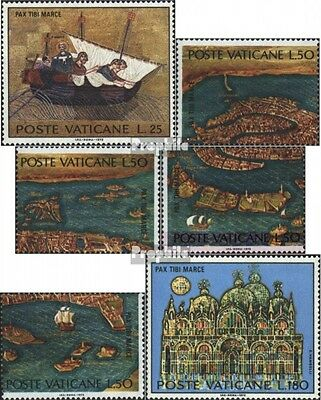 Vatican 599-604 (complete issue) unmounted mint / never hinged 1972 Save Venice