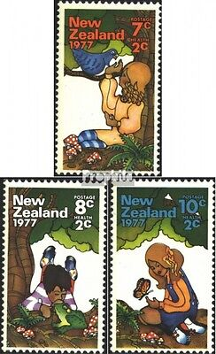New Zealand 720-722 (complete issue) unmounted mint / never hinged 1977 Health