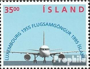 Iceland 832 (complete issue) unmounted mint / never hinged 1995 flight connectio