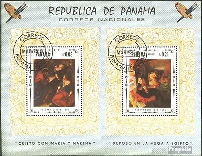 Panama block81 (complete issue) used 1968 Jesus Christ Painting