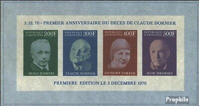 Gabon block16b (complete issue) unmounted mint / never hinged 1970 1. Death of C