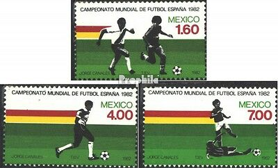 Mexico 1825-1827 (complete issue) unmounted mint / never hinged 1982 Football-WM