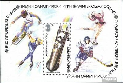 Bulgaria block216a (complete issue) unmounted mint / never hinged 1991 Winter Ol