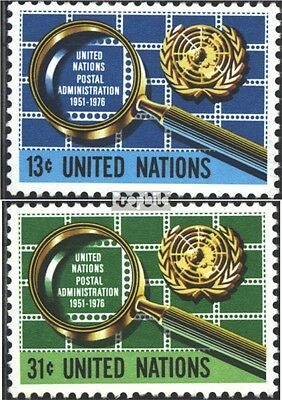 UN-New York 299-300 (complete issue) unmounted mint / never hinged 1976 Postal A