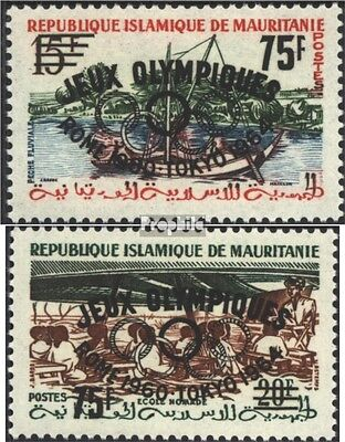 Mauritania I-II II (complete issue), not spent unmounted mint / never hinged 196
