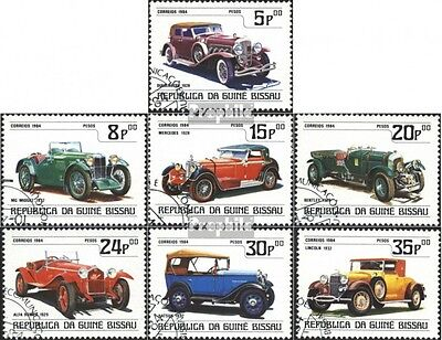 Guinea-Bissau 746-752 (complete.issue) used 1984 Cars