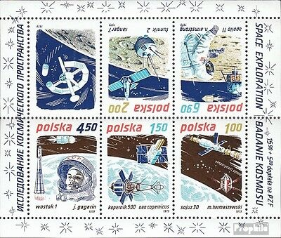 Poland block80 (complete issue) unmounted mint / never hinged 1979 Space