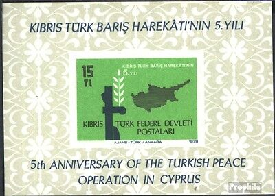Turkish-Cyprus block1 (complete issue) used 1979 intervention