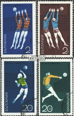 Bulgaria 2029-2032 (complete issue) used 1970 Championship in V