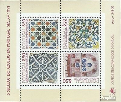Portugal Block33 (complete issue) used 1981 tiles