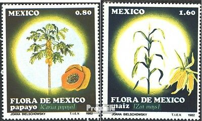 Mexico 1835-1836 (complete issue) unmounted mint / never hinged 1982 Flora Mexic