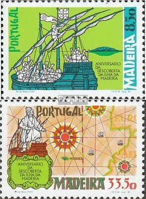 Madeira (Portugal) 71-72 (complete issue) unmounted mint / never hinged 1981 Dis