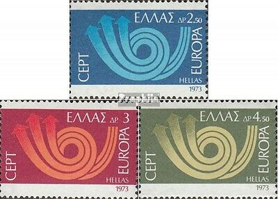 Greece 1147-1149 (complete issue) unmounted mint / never hinged 1973 Europe