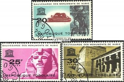 Togo 419-421 (complete issue) used 1964 Protection the nubian M