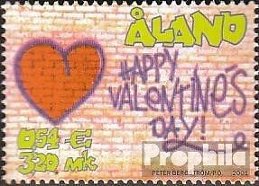 Finland-Aland 190 (complete issue) unmounted mint / never hinged 2001 Valentines