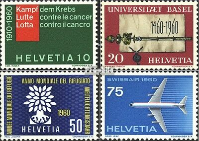 Switzerland 692-695 (complete.issue) used 1960 special stamps