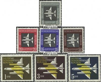 DDR 609-615 (complete.issue) used 1957 Aircraft