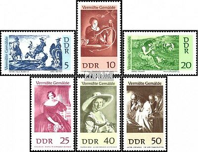 DDR 1286-1291 (complete.issue) used 1967 Paintings