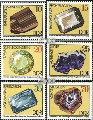 DDR 2006-2011 (complete.issue) unmounted mint / never hinged 1974 Minerals
