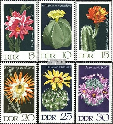 DDR 1625-1630 (complete issue) unmounted mint / never hinged 1970 Cacti