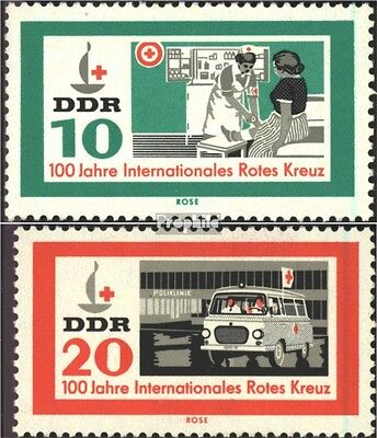 DDR 956-957 (complete.issue) unmounted mint / never hinged 1963 Red Cross
