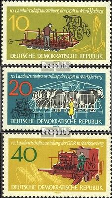 DDR 895-897 (complete.issue) used 1962 Agricultural Show
