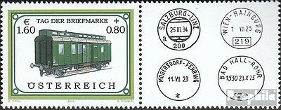 Austria 2380 with zierfeld (complete issue) used 2002 Day the S