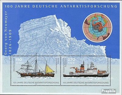 FRD (FR.Germany) block57 (complete issue) used 2001 Antarctic R