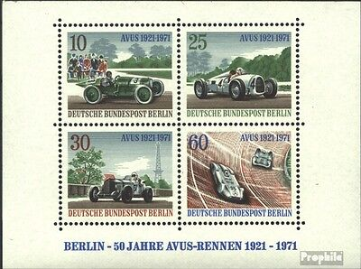 Berlin (West) block3 (complete.issue) unmounted mint / never hinged 1971 Avus-Ra