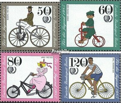 Berlin (West) 735-738 (complete.issue) used 1985 Youth brands