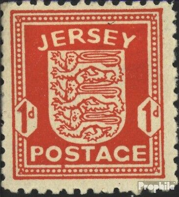 Jersey (German. cast.2.world.) 2y white Paper unmounted mint / never hinged 1942