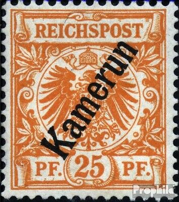 Cameroon (German. Colony) 5a with hinge 1897 print edition