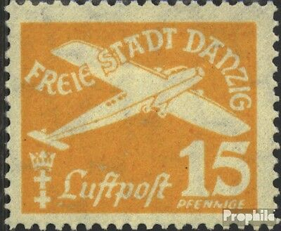 Gdansk 252 used 1935 Airmail