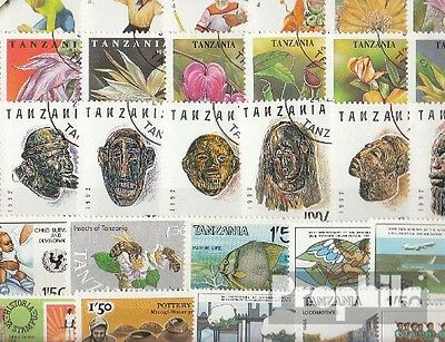 Tanzania 50 different special stamps