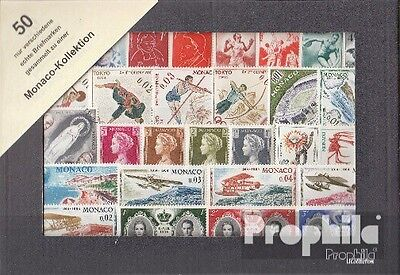 Monaco 50 different stamps