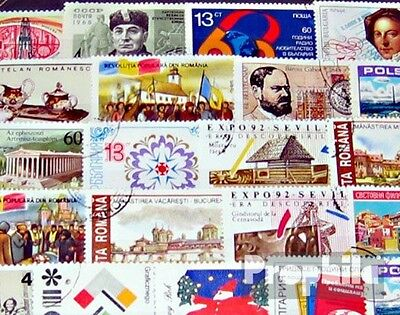 Eastern Europe 100 different special stamps