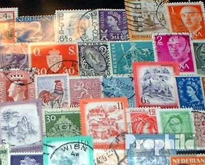 Europe 150 different stamps
