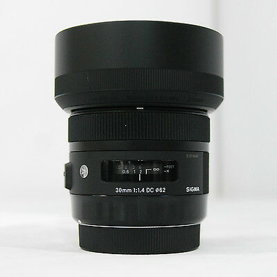 Sigma DC 30mm F/1.4 AF HSM Art Lens For Canon / 30.4mm