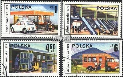 Poland 2651-2654 (complete issue) used 1979 Day the Stamp