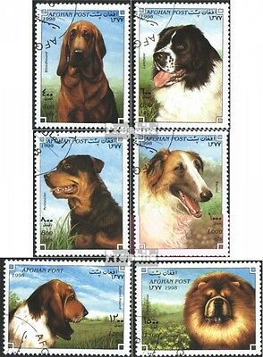 Afghanistan 1754-1759 (complete issue) used 1998 Breeds