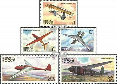 Soviet-Union 5202-5206 (complete issue) unmounted mint / never hinged 1982 Glide