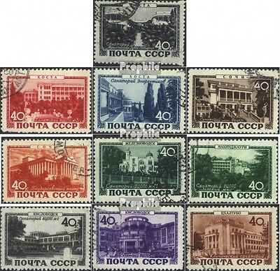 Soviet-Union 1371-1380 (complete issue) used 1949 Spas the USSR