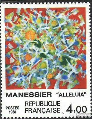 France 2298 (complete issue) unmounted mint / never hinged 1981 Alfred Manesier
