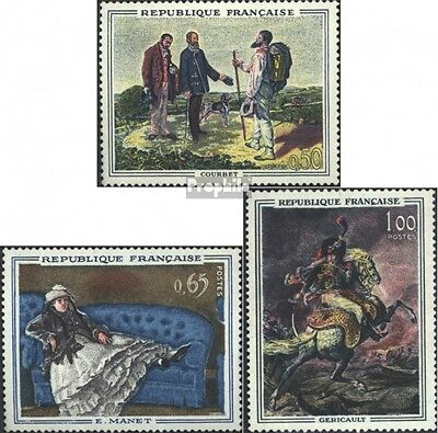 France 1415-1417 (complete issue) unmounted mint / never hinged 1962 Paintings
