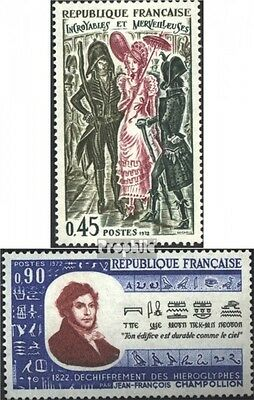 France 1809,1811 (complete issue) used 1972 special stamps