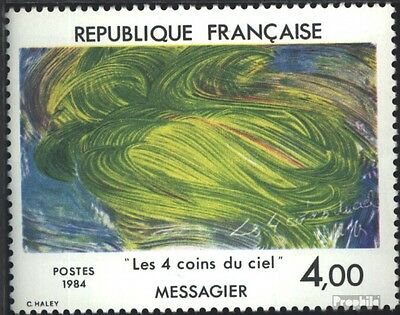 France 2433 (complete issue) used 1984 Art