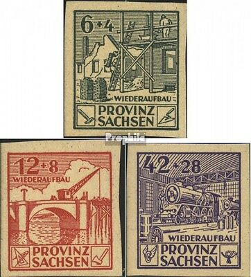 Soviet Zone (Allied.cast.) 87B-89B (complete issue) unmounted mint / never hinge