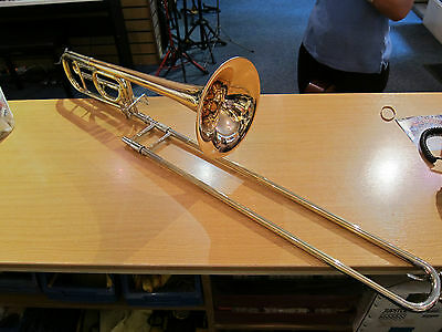 Courtois AC440 Bb/F Trombone – lacquer, (used instrument)