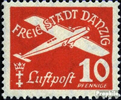 Gdansk 251 used 1935 Airmail