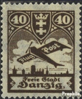 Gdansk 204 used 1924 Airmail